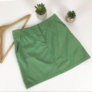 J Crew Skirt Green Pencil